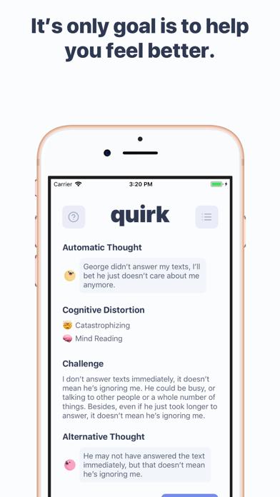 Quirk CBT Screenshot 3