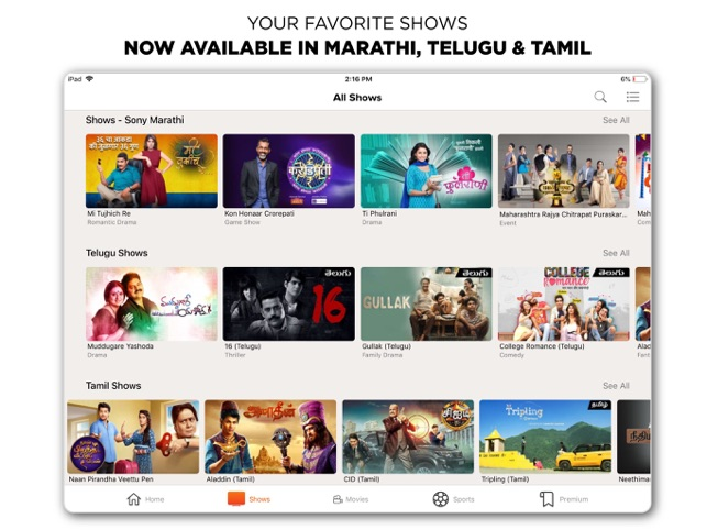 SonyLIV-LIVE Cricket TV Movies on the App Store