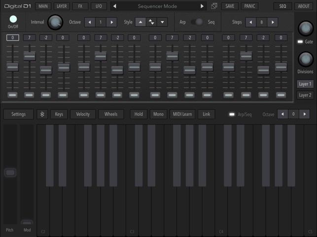 AudioKit Digital D1 Synth + AU on the App Store