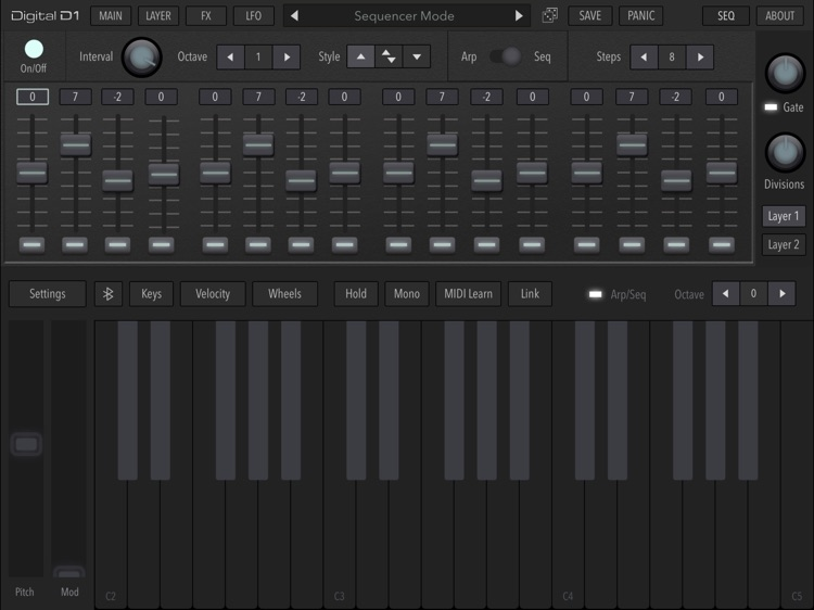 AudioKit Digital D1 Synth screenshot-5