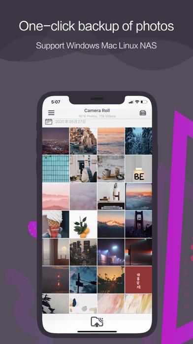 Photo Box - Camera roll backup ScreenShot0