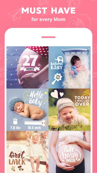 Lil Pics: Baby Photo Editorのおすすめ画像1