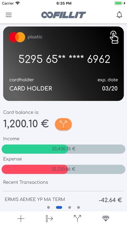 Fillit - Unique Mobile Banking screenshot-3