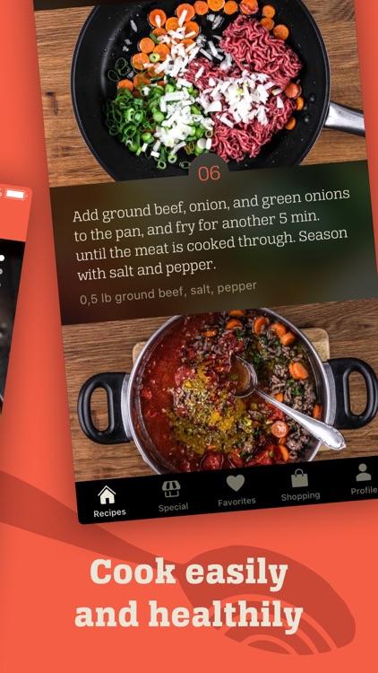 KptnCook Recipes & Cooking