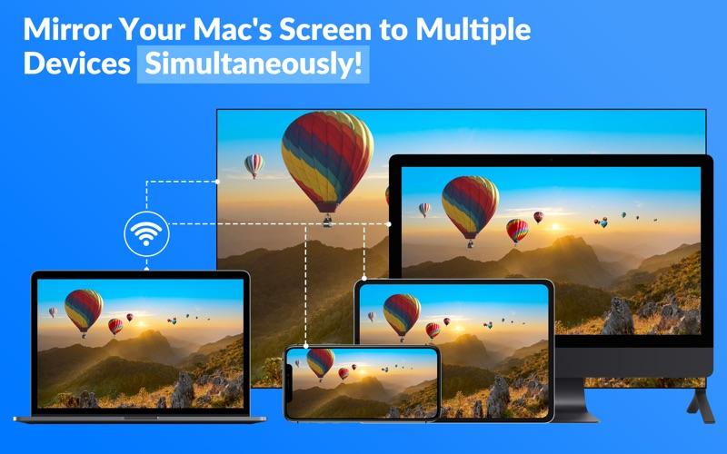 Screen Mirror to TV & Device скриншот программы 1