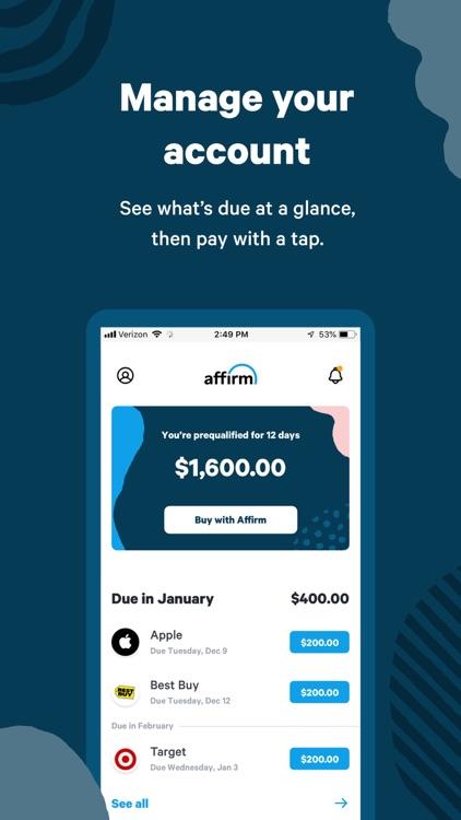 Affirm: A better way to pay screenshot-3