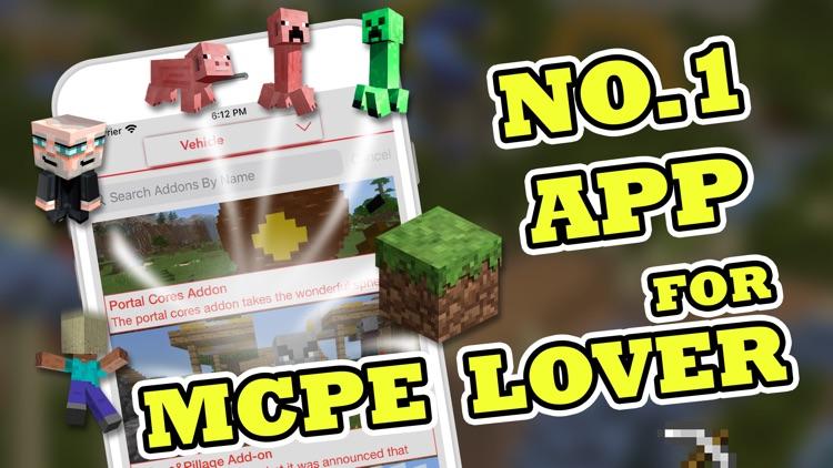 MCPE Mod Master For Minecraft