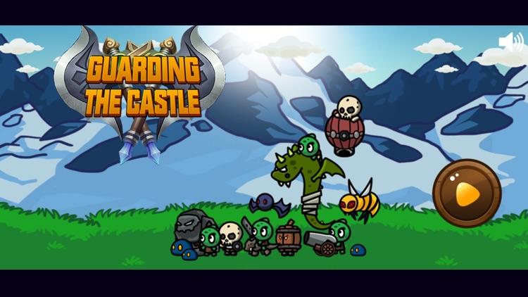 Guarding the castle