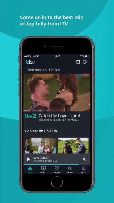 ITV Hub screenshot one