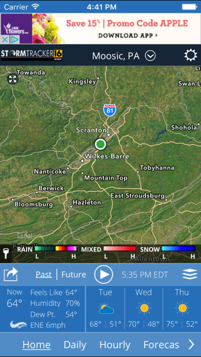 Wnep Stormtracker 16 Weather review screenshots