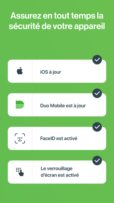 Screenshot for Duo Mobile in France App Store