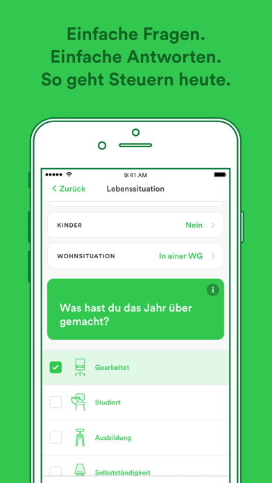 Screenshot for Taxfix - Die Steuer-App in Ecuador App Store