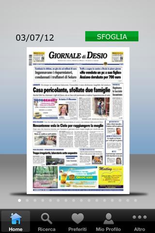 Il Giornale di Desio - náhled