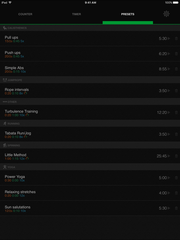 iCountTimer Pro Screenshots