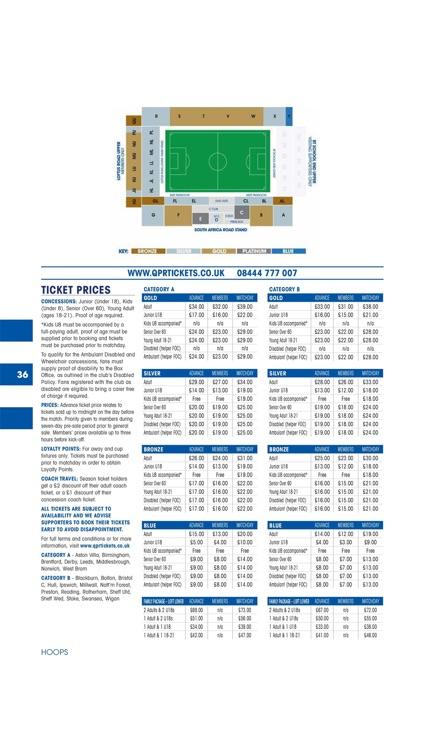 Hoops – QPR Official Programme screenshot-7