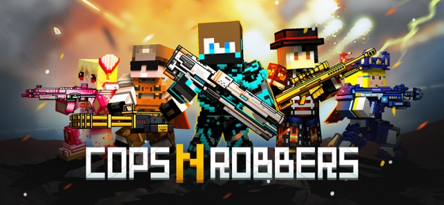 what if minecraft had cops