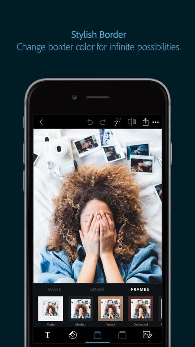 Screenshot for Adobe Photoshop Express in Ukraine App Store