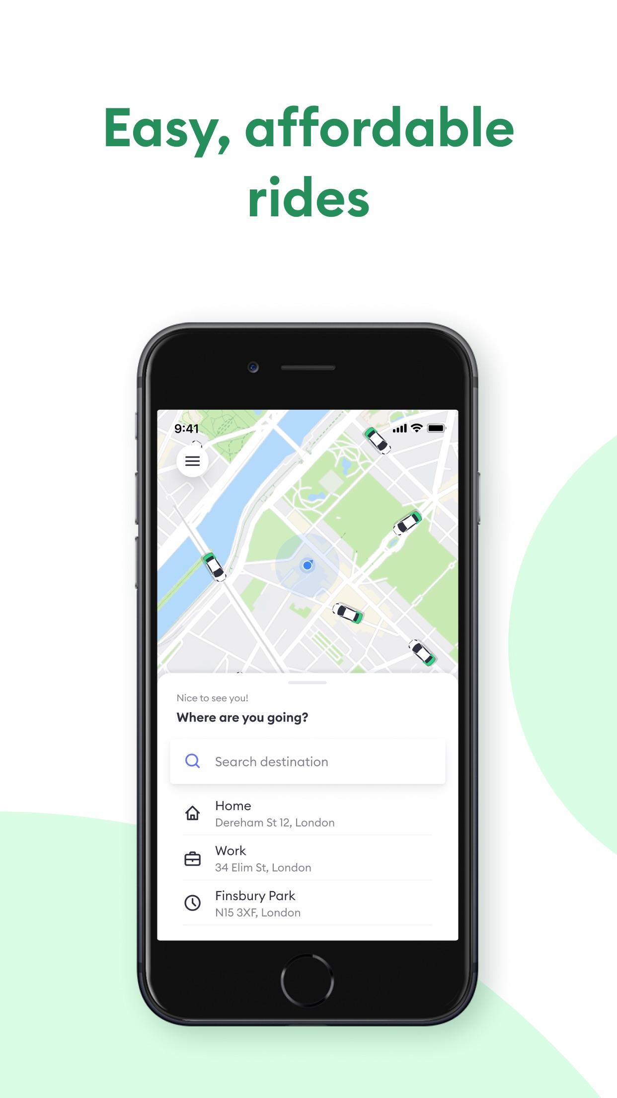 Bolt (Taxify) Screenshot