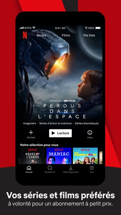 Screenshot for Netflix in France App Store