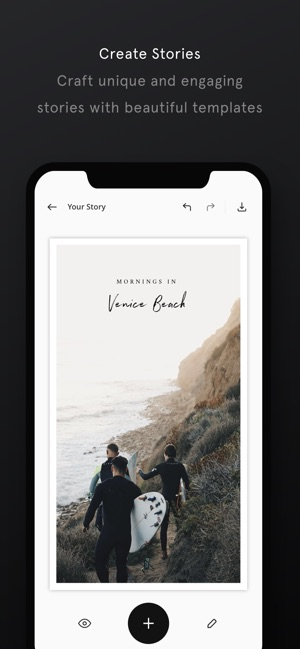 Unfold — Create Stories Screenshot