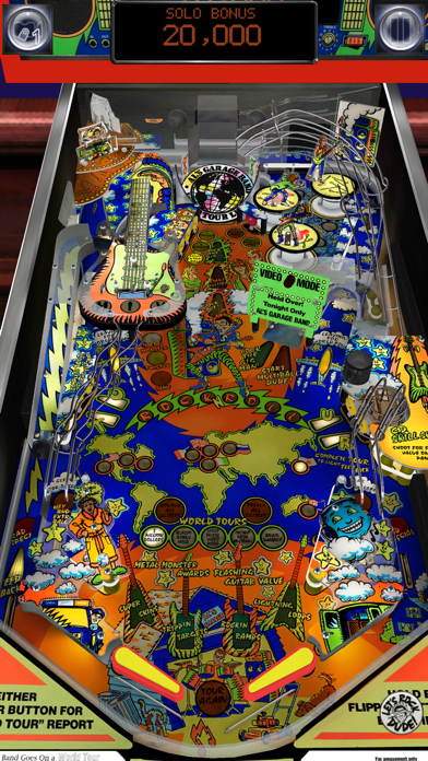 Screenshot from Pinball Arcade