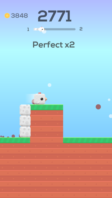 Square Bird. screenshot 1