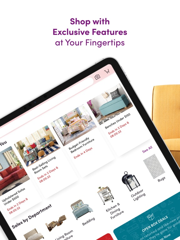 iPad Image of Wayfair – Shop All Things Home