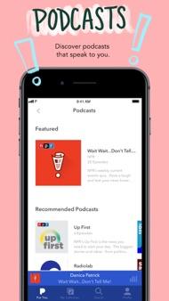Pandora: Music & Podcasts iphone images