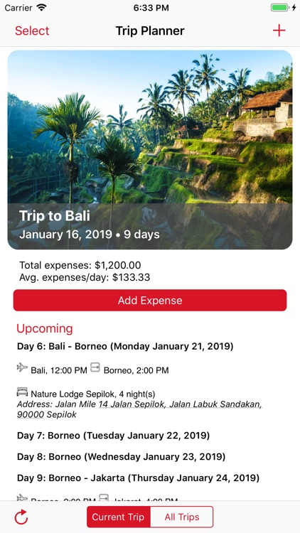 My Travels Planner screenshot-7