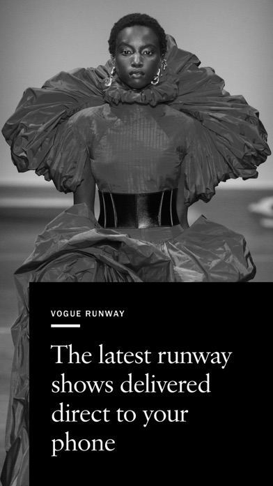 Vogue Runway Fashion Shows screenshot one