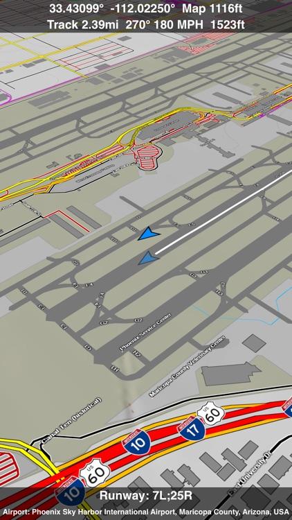 Scenic Map Central USA screenshot-3