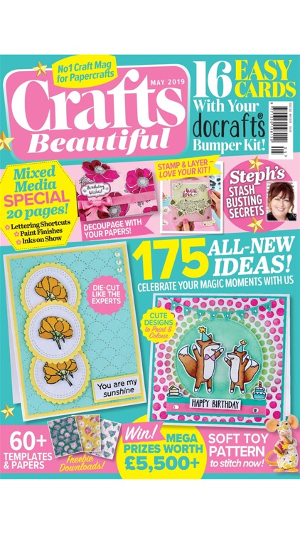 Crafts Beautiful Magazine screenshot-0
