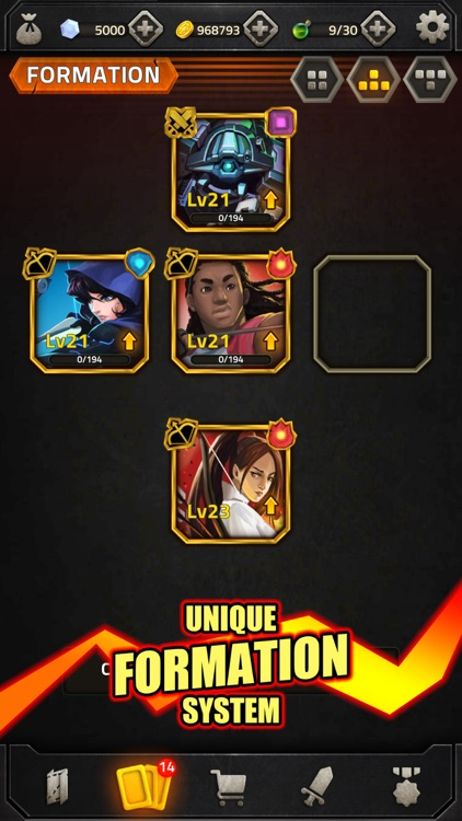 Heroes of Elements Match 3 RPG screenshot-5