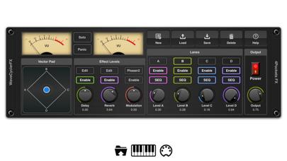 EvolverFX AUv3 Audio Plugin screenshot 1