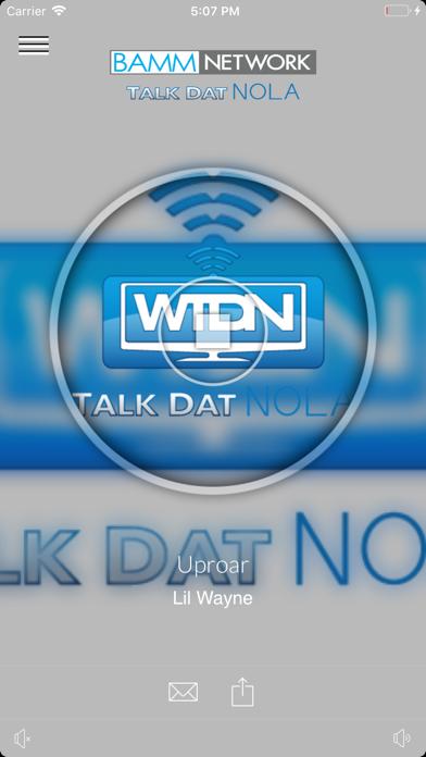 WTDN - Talk Dat NOLA screenshot one