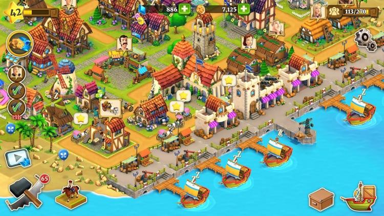 Town Village: Farm Build Trade screenshot-4