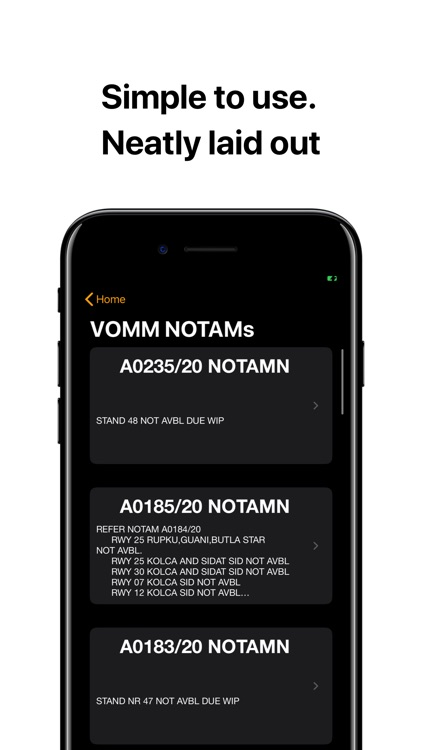 AeroNautical: METAR, NOTAMs screenshot-3