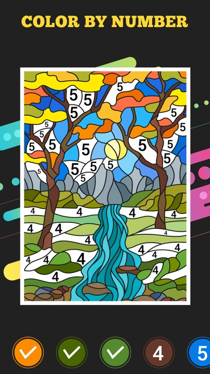 Artwork By Numbers For Adult screenshot-3