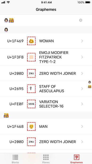 Cicero: A Unicode® Tool screenshot three