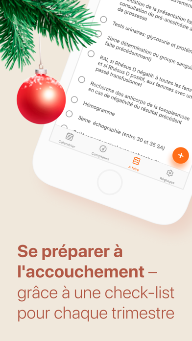 Screenshot for Grossesse & Suivi de enceinte in Lebanon App Store