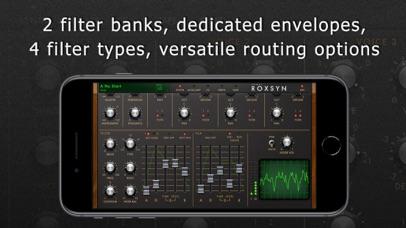 Roxsyn Guitar Synthesizer screenshot 4