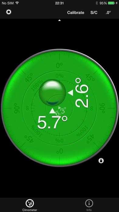 バブルレベル+傾斜計 (clinometer)のおすすめ画像2