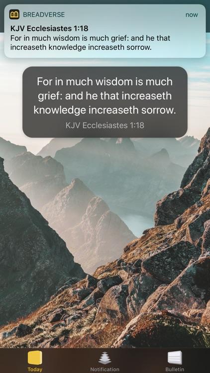 BreadVerse: Daily Bible Verse screenshot-4
