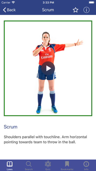 Screenshot for World Rugby Laws of Rugby in Netherlands App Store