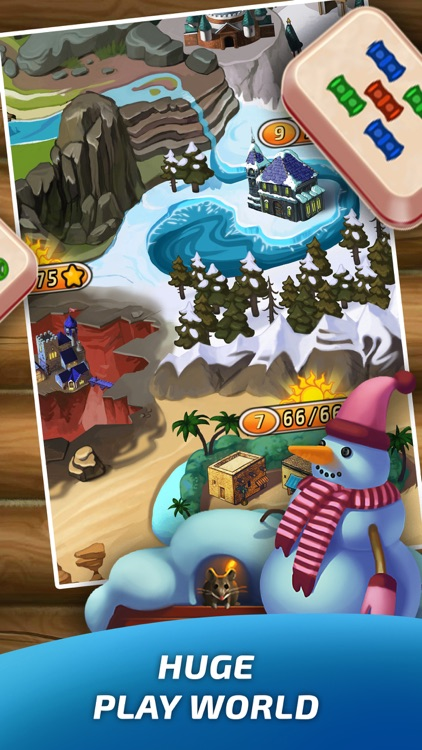 Mahjong Village screenshot-3