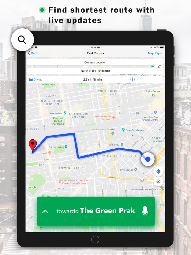 GPS Navigation & Live Traffic on the App Store