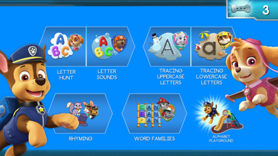 Paw Patrol: Alphabet Learning screenshot 2