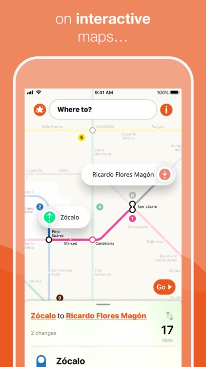 Mexico City Metro Map
