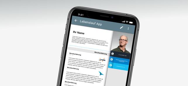 Lebenslauf App Im App Store
