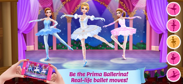 Pretty Ballerina Dancer On The App Store